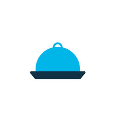 meal icon colored symbol premium quality isolated vector image
