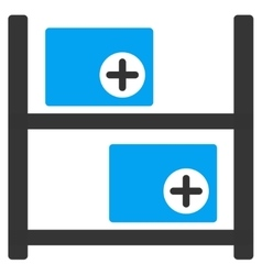 Medical Warehouse Icon vector
