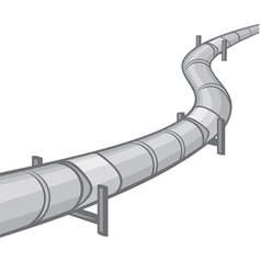 pipeline vector image