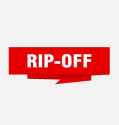 Rip-off vector