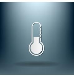 Thermometer icon temperature symbol vector
