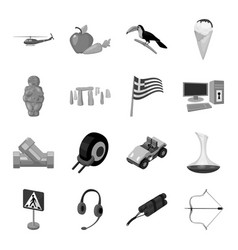 Transport weapons parking and other web icon in vector