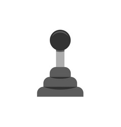 car transmission icon flat vector image vector image