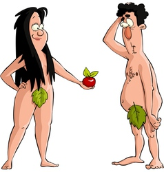 Adam and Eve vector