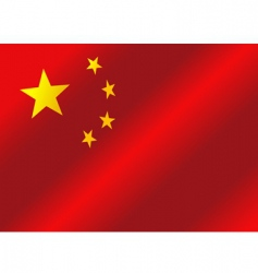 flag of China republic vector image