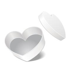 heart present vector image