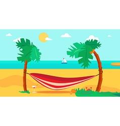 Hello Summer Concept vector image vector image