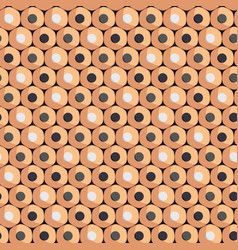 seamless pattern simple pencils for drawing vector image