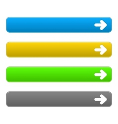 Set download buttons vector