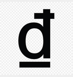 Vietnamese dong sign vector