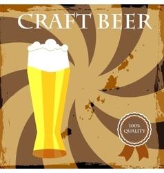 Happy Hour Beer Bar Stamp vector image vector image