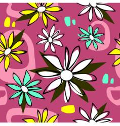 nature tile vector image vector image