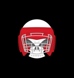Boxing logo sports emblem skull and boxing gloves vector