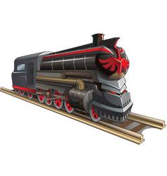 Demonic train vector