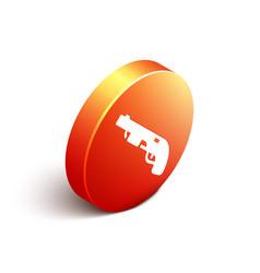 isometric police shotgun icon isolated on white vector image
