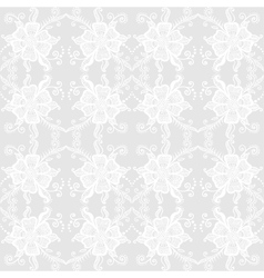 Lacy floral pattern vector