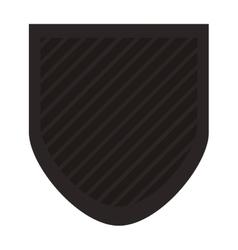 Shield emblem icon vector