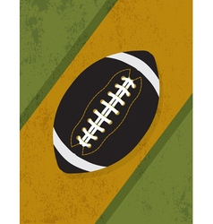 Vintage American Football Background vector