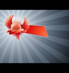 disco ball abstract party design vector image vector image