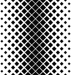 Repeating monochrome square pattern design vector image vector image
