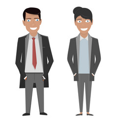 character business woman and vector image vector image