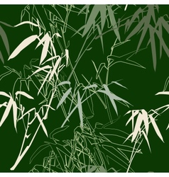 Bamboo seamless texture vector image
