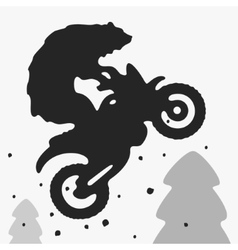 Bear Bike vector