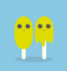 cartoon ice cream vector image