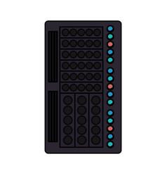 Database server storage vector