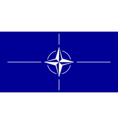 Flag of NATO vector
