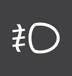 Fog lights icon vector image