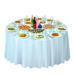 gala buffet served vector image