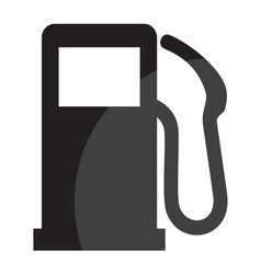 Gas station sign vector