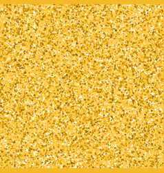 Glitter golden background vector