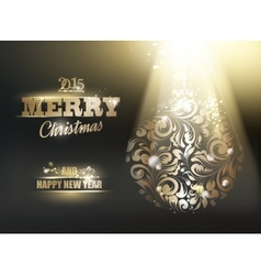 Gold ornament vector image