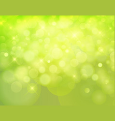 Light nature bokeh background made from white vector