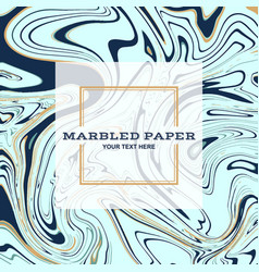 marbled paper background 01 vector image