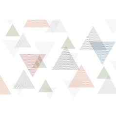 Minimal tech geometric background vector