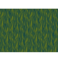 Pattern with braids drawn in thin lines vector image
