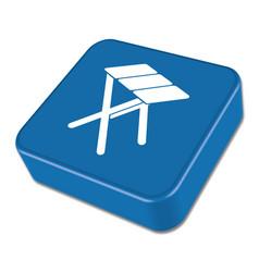 camping tstool icon vector image
