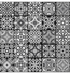 abstract geometric ethnic seamless textures vector image