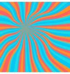 Colored orange lollypop background vector image