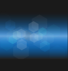 abstract blue digital light background vector image
