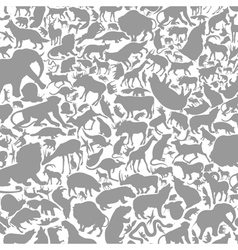 Background animals vector