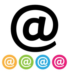 E-mail Icon vector image