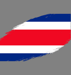 Grunge styled flag vector
