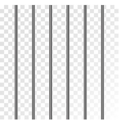 Jail prison metal cage isolated cell grid steel vector