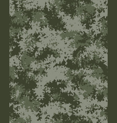 Seamless digital camouflage vector