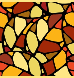 Autumn colored seamless pattern pr vector image