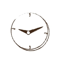 clock time business money design sketch vector image